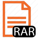 file, rar, type icon