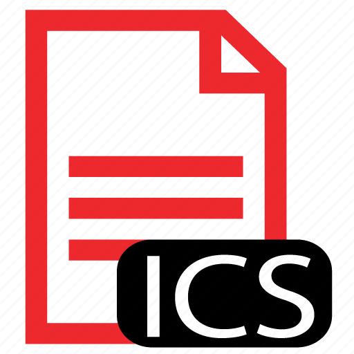 file, ics, type icon