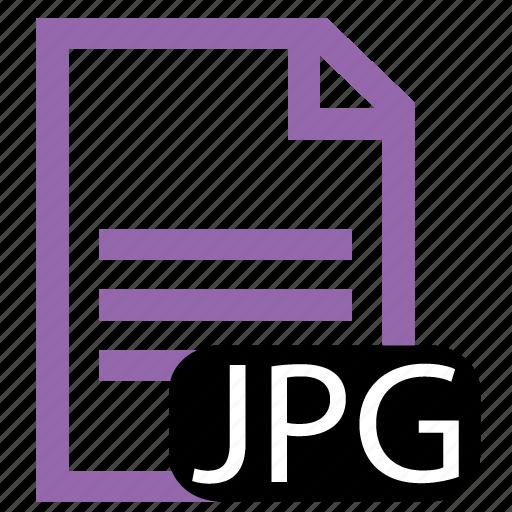 file, jpg, type icon