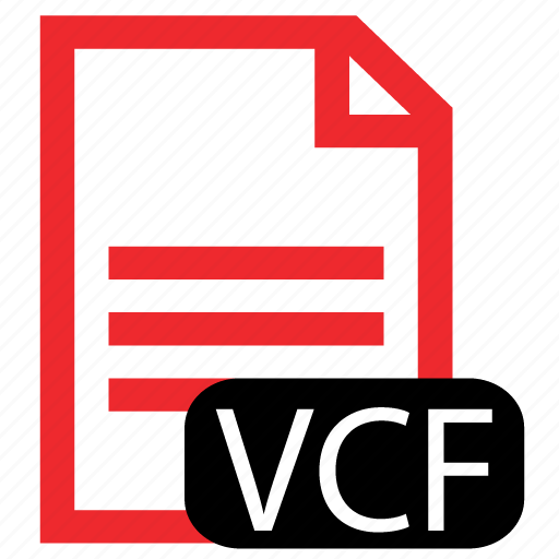 file, type, vcf icon