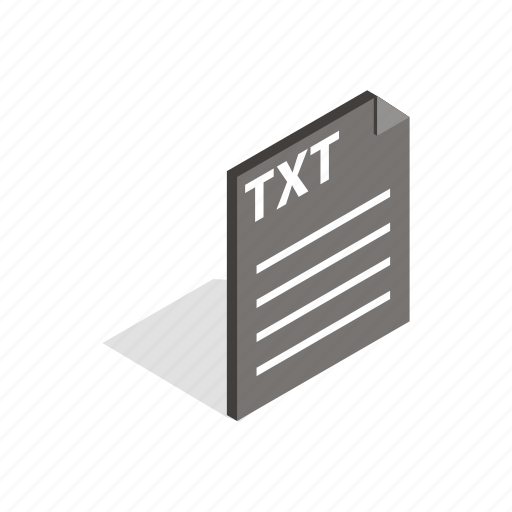application, document, element, extension, file, isometric, text icon
