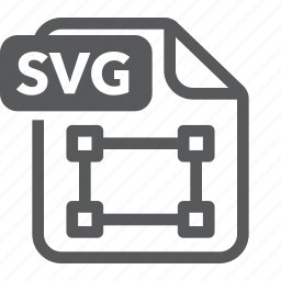 document, extension, file, format, svg, type icon