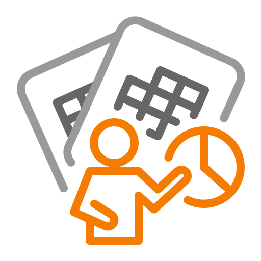business, files, management icon