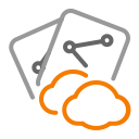 backup, cloud, document, files, internet, sharing icon