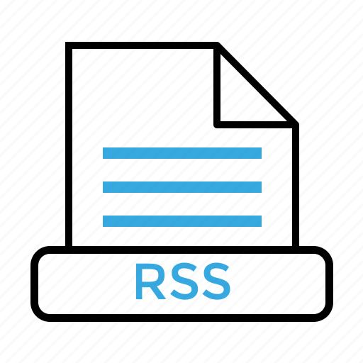 feed, file, format, rss icon
