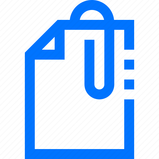 attached, document, files icon