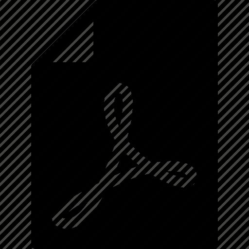 acrobat, document, file, folder, format icon