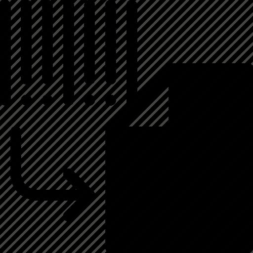 decode, document, file, folder, format icon