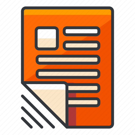 article, document, file, files, news icon