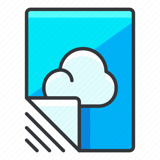 cloud, document, file, files, storage icon