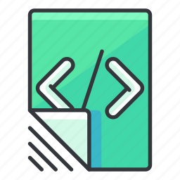 code, coding, document, file, files, programming icon