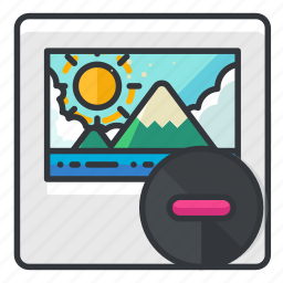delete, file, files, image, remove icon