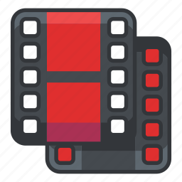 duplicate, file, files, multimedia, video icon