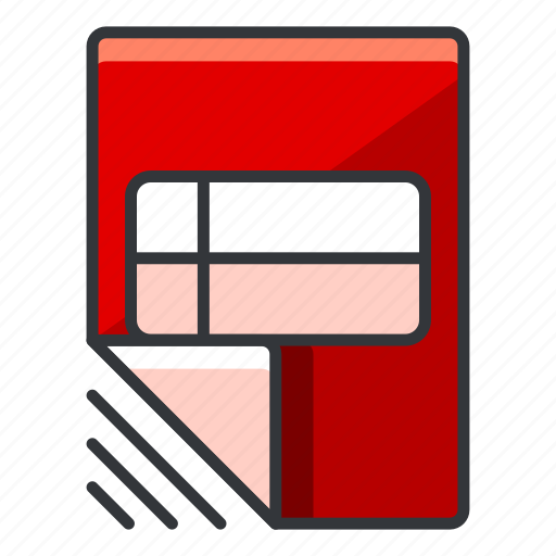 document, file, files, list icon