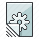 file, files, options, preferences, settings icon