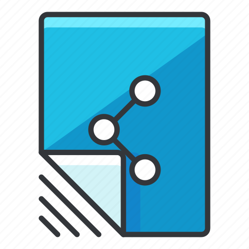 document, file, files, share icon