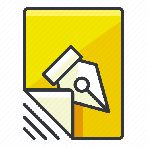 edit, file, files, pen, write icon