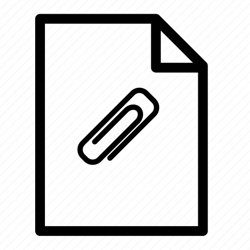 attach file, file, files icon