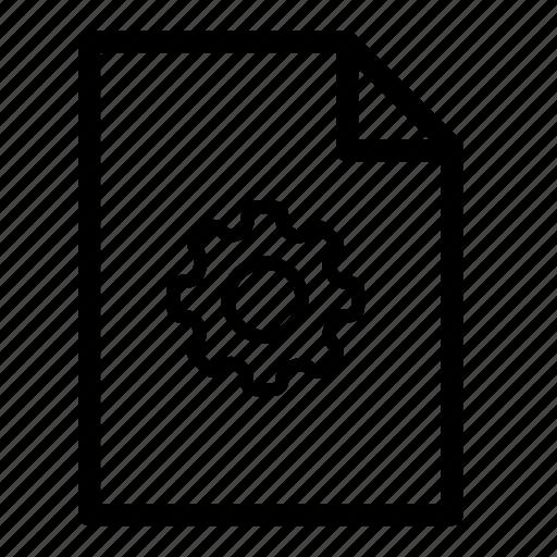 file, files, setting file, settings icon