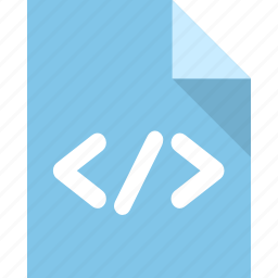 code, document, file, page, paper icon