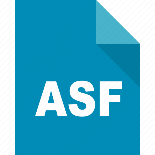 asf, document, file, format, page, paper icon