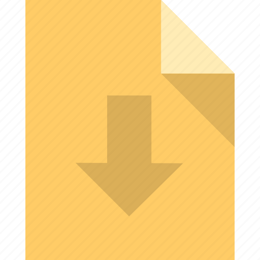 document, file, import, page, paper icon