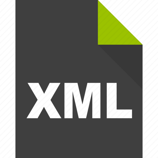 document, file, format, page, paper, xml icon