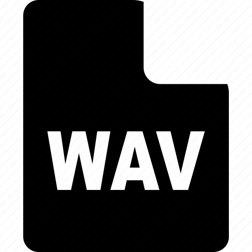 document, file, format, page, paper, wav icon