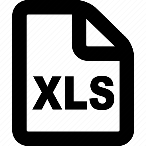 document, format, page, paper, xls icon