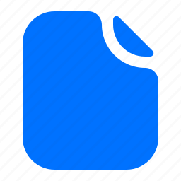 document, file, format icon