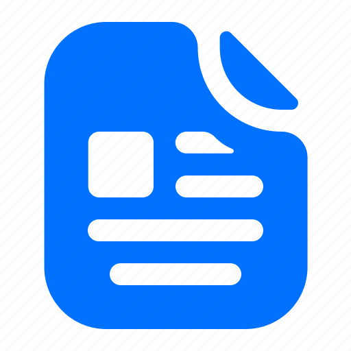 article, file, format icon
