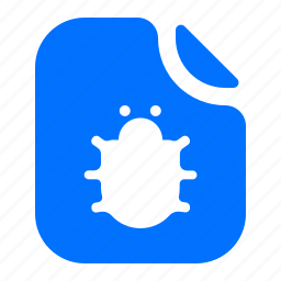 bug, file, format icon