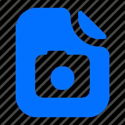 camera, file, format, image icon