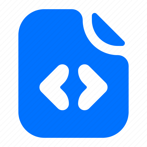 code, coding, file, format icon