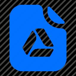drive, file, format, google icon