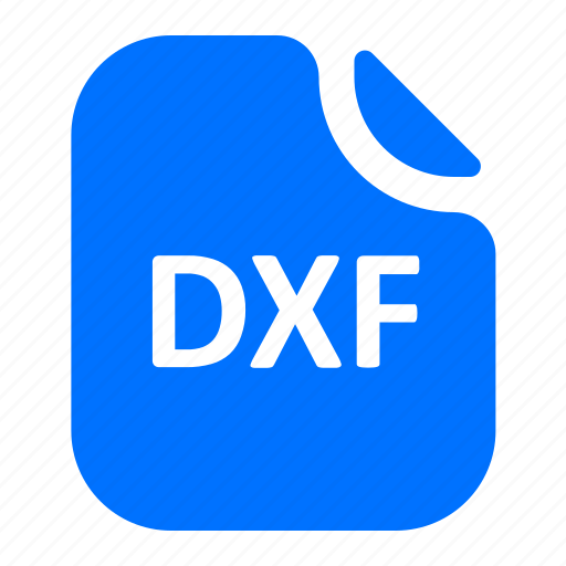 dxf, file, format icon