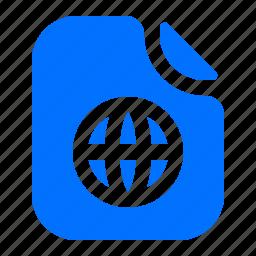 file, format, internet, net icon