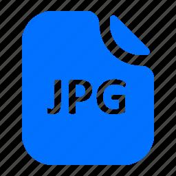 file, format, image, jpg icon