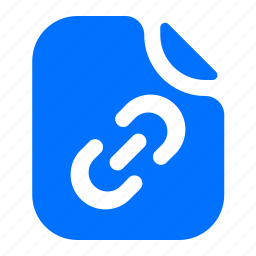 chain, file, format, link icon