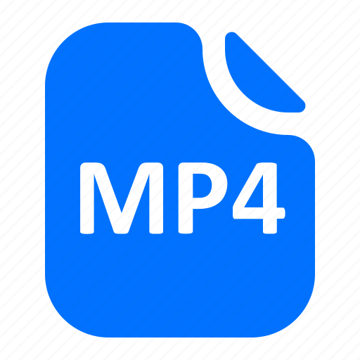 audio, file, format, mp4 icon