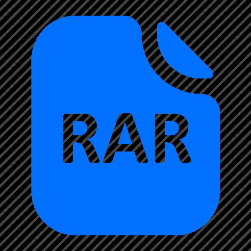 archive, file, format, rar icon