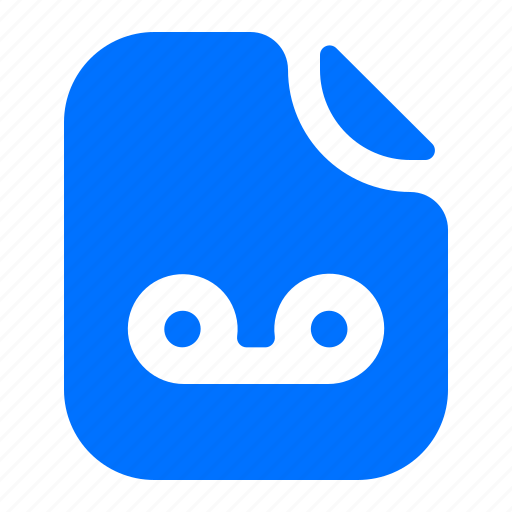 file, format, record icon
