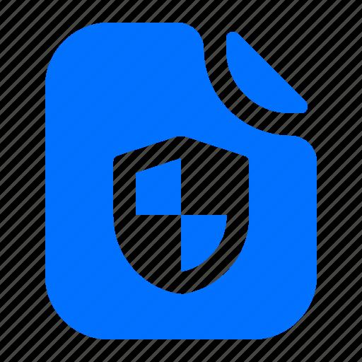 file, privacy, security, shield icon