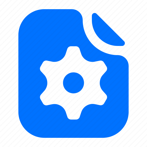 file, format, options, settings icon