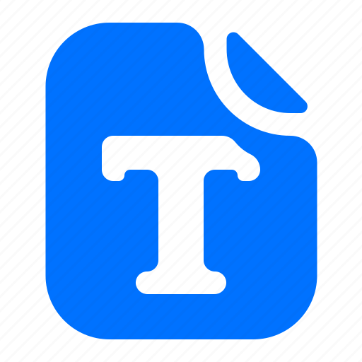 file, format, text icon