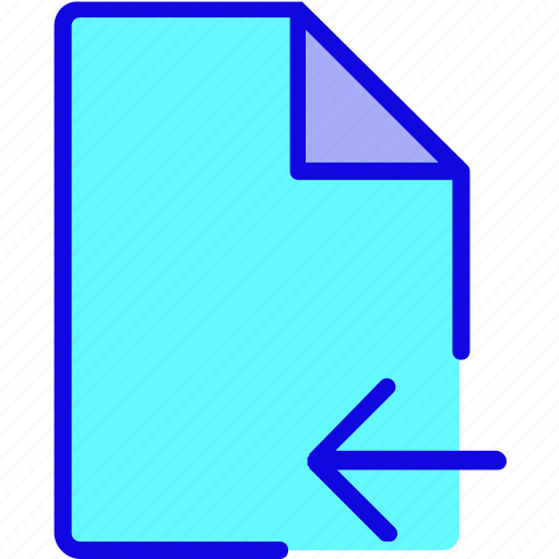 document, file, file format, file type, import, page, save icon