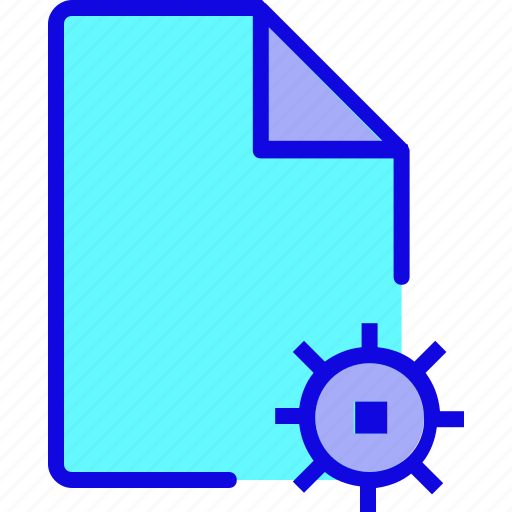 document, file, file format, file type, page, setting, type icon