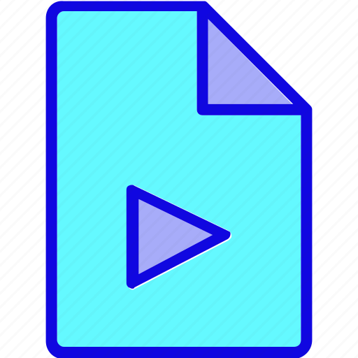 document, file, format, media, multimedia, page, type icon
