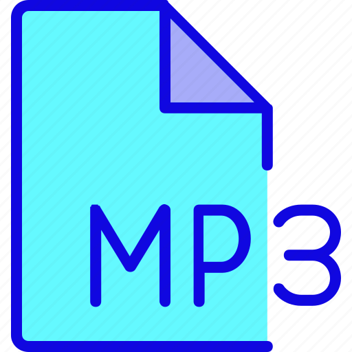 audio, file, file format, folder, mp3, music, song icon