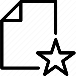 data, document, favorite, file, like, paper icon